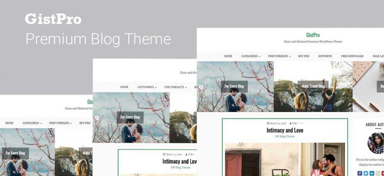 GistPro Premium WordPress Themes