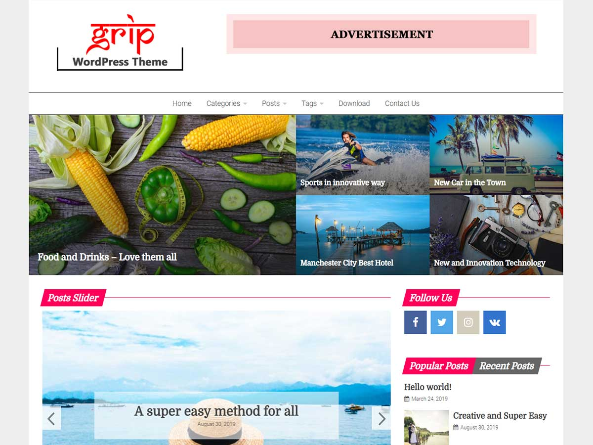 Best Free Wordpress Themes 2020.Popular And Best Free Magazine Themes And Templates For 2020