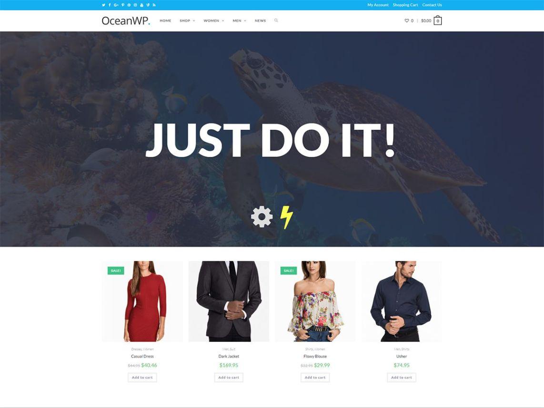 free WordPress themes oceanwp