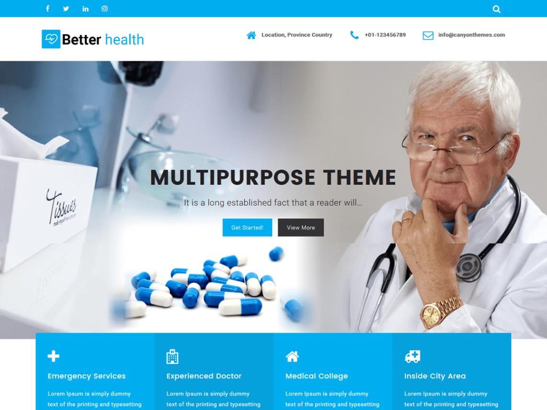 Free WordPress Themes Better Health