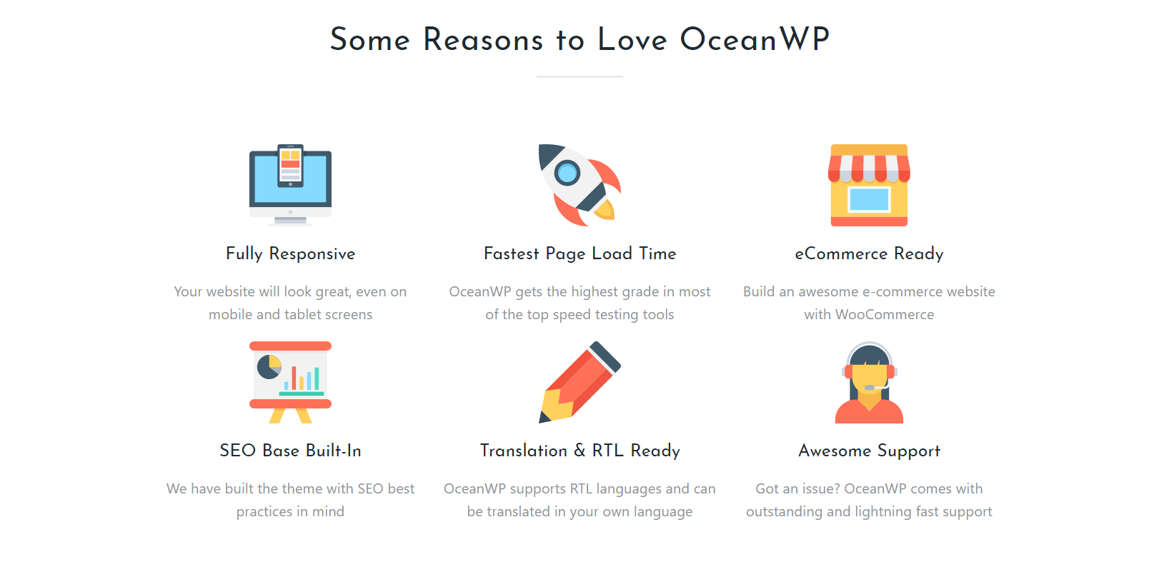 OceanWP Multipurpose WordPress Theme