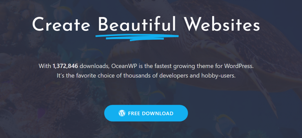 How to start your website with Multipurpose WordPress Theme OceanWP?