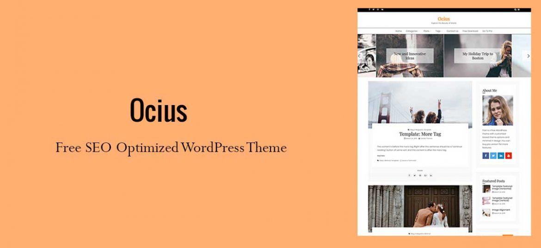 Search Engine Optimized WordPress Theme