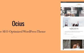 Search Engine Optimized WordPress Theme