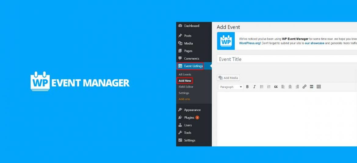 WP Event Manager – A Free and Lightweight Event Management WordPress Plugin
