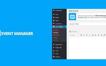 Event Management WordPress Plugin