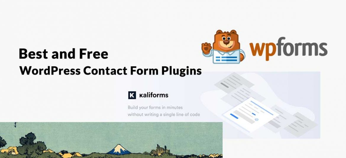 Best and Free WordPress Contact Form Plugins