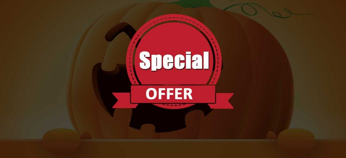 Happy Halloween Sale for 2019 – Get 30% on all our Premium Themes