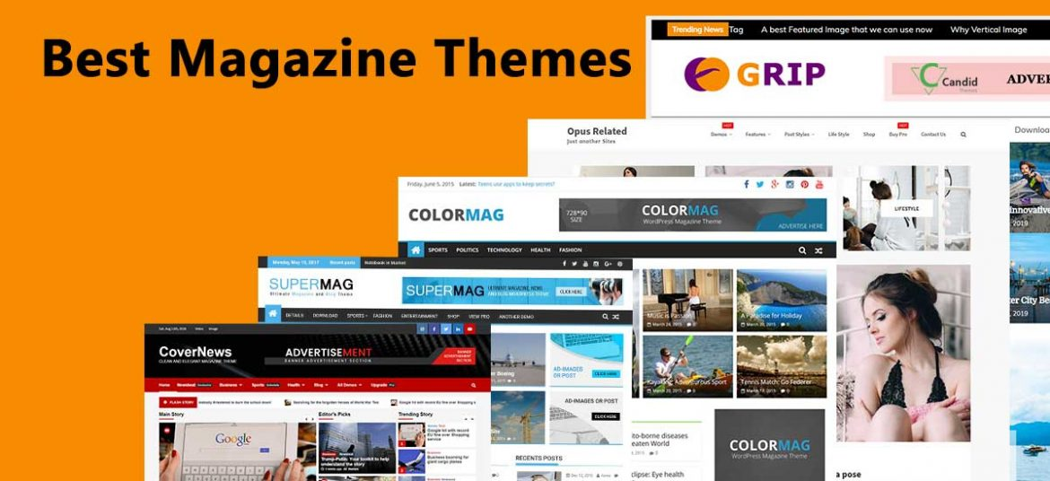 Popular and Best Free Magazine Themes and Templates for 2020