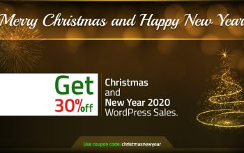 Christmas and New Year WordPress Sales