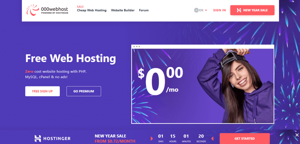 ooowebhost free WordPress Hosting