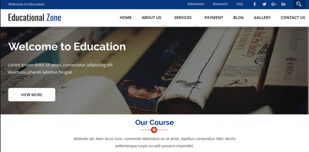 Free Educational WordPress Themes