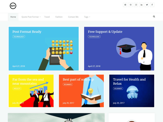 Ezy WordPress theme