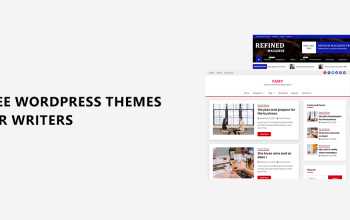 Free WordPress themes for Writers