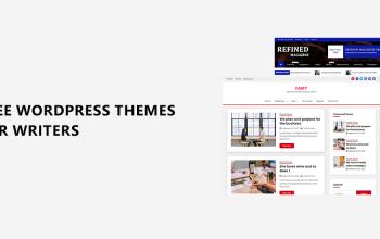 Free WordPress themes for Writers