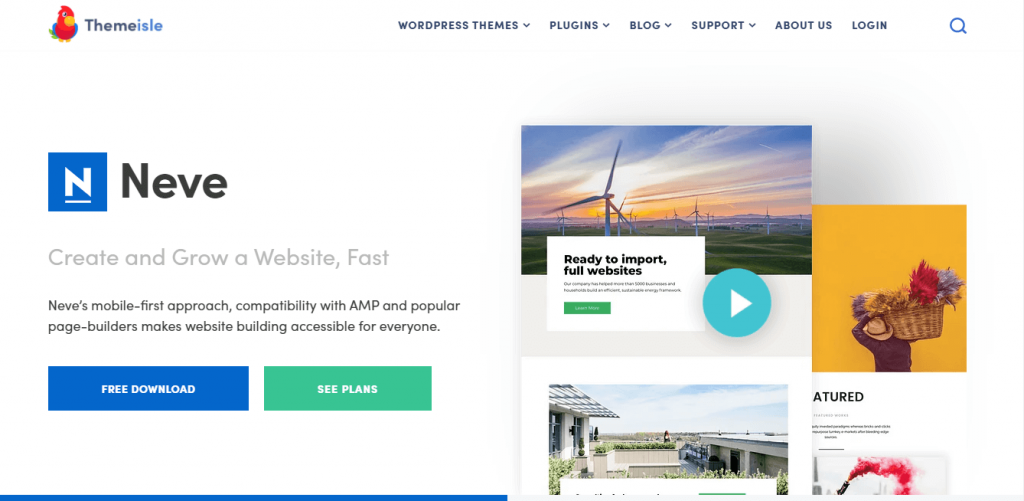 free WordPress theme for Writers