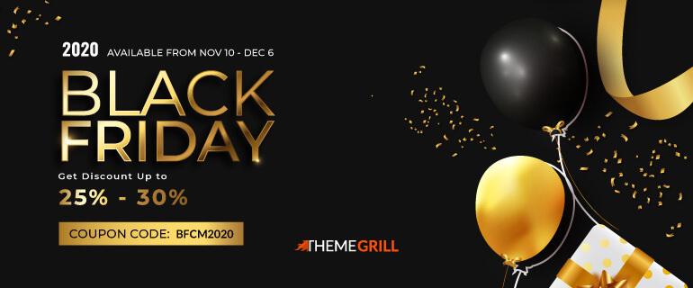 ThemeGrill Black Friday