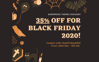 WordPress Themes Black Friday Deals for 2020