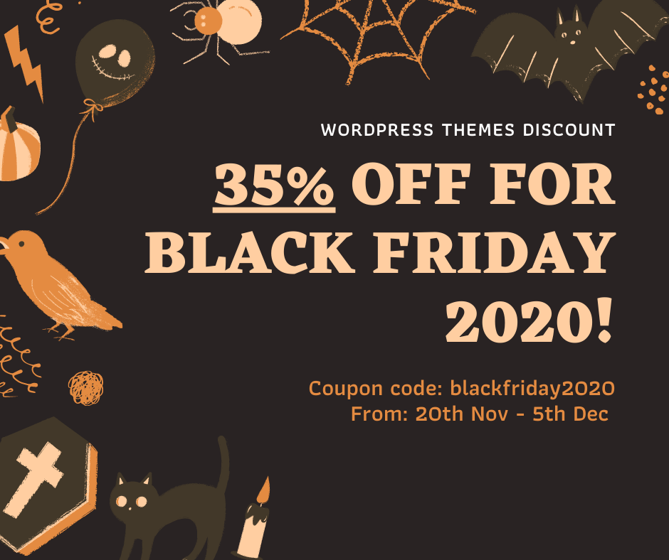 Candid Themes Black Friday Sales