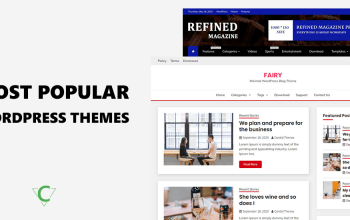 Popular Free WordPress Themes