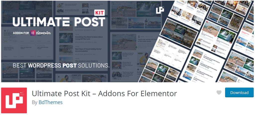 Ultimate Post Kit Review Banner