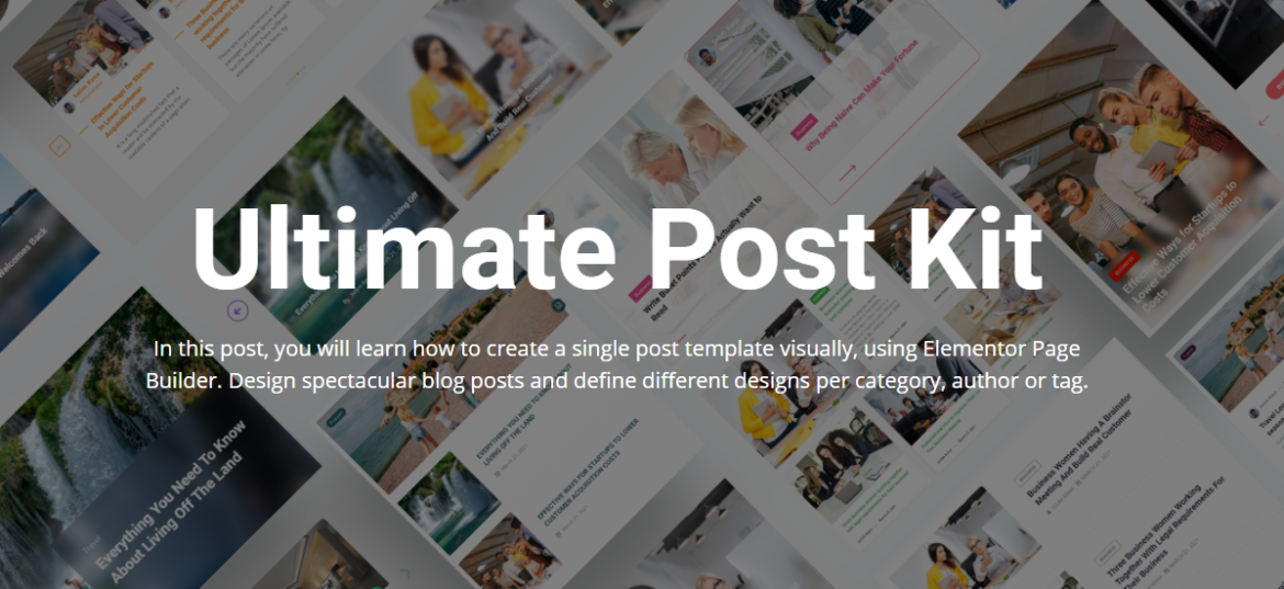 Ultimate Post Kit Review – The Ultimate Blogging Tool For WordPress