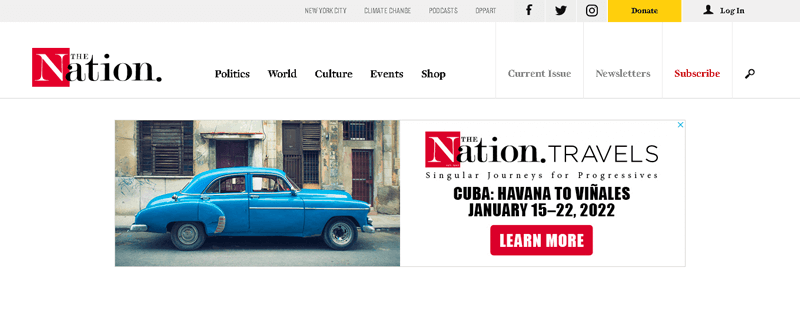 TheNation Popular News Site