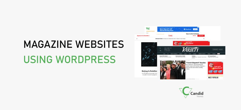 23 Top Magazine Websites Using WordPress in 2021