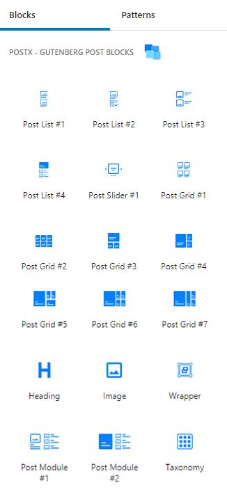 Types of Blocks