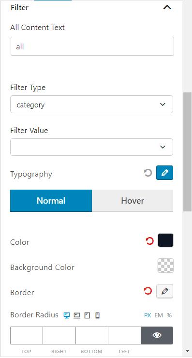 Ajax Powered Post Filter