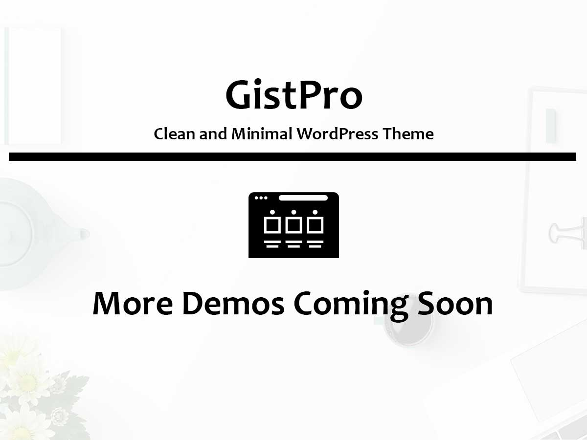 GistPro Coming Soon