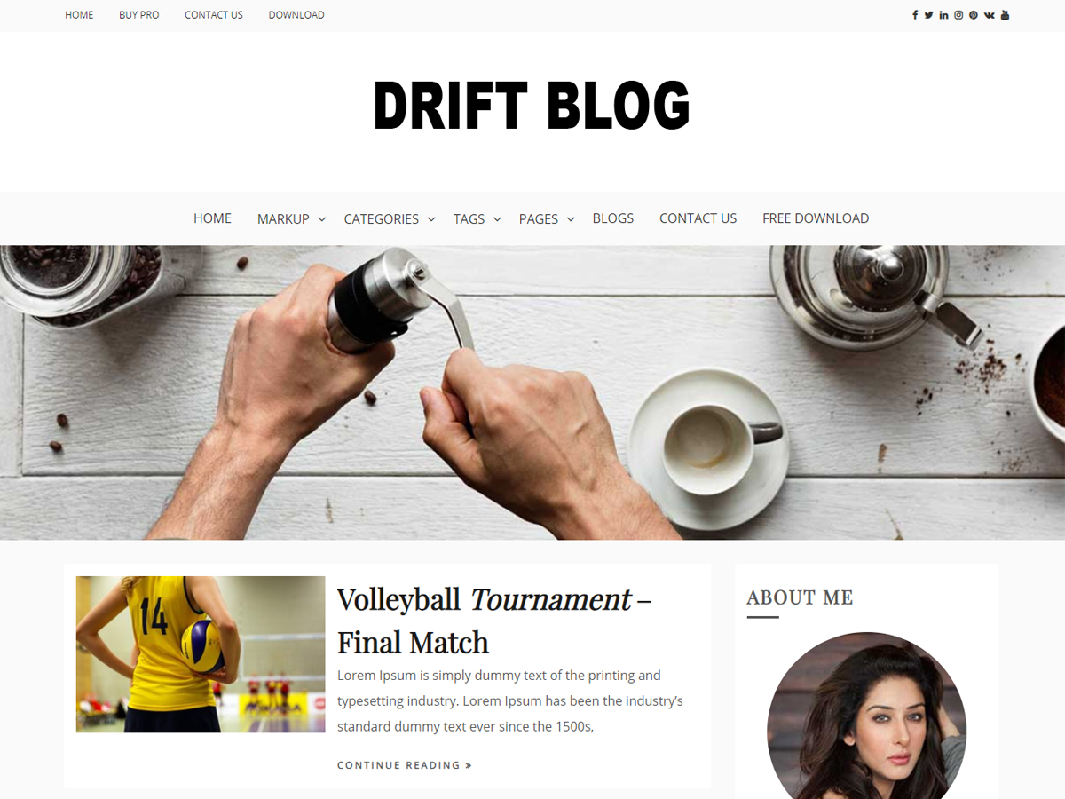 Drift Blog Default