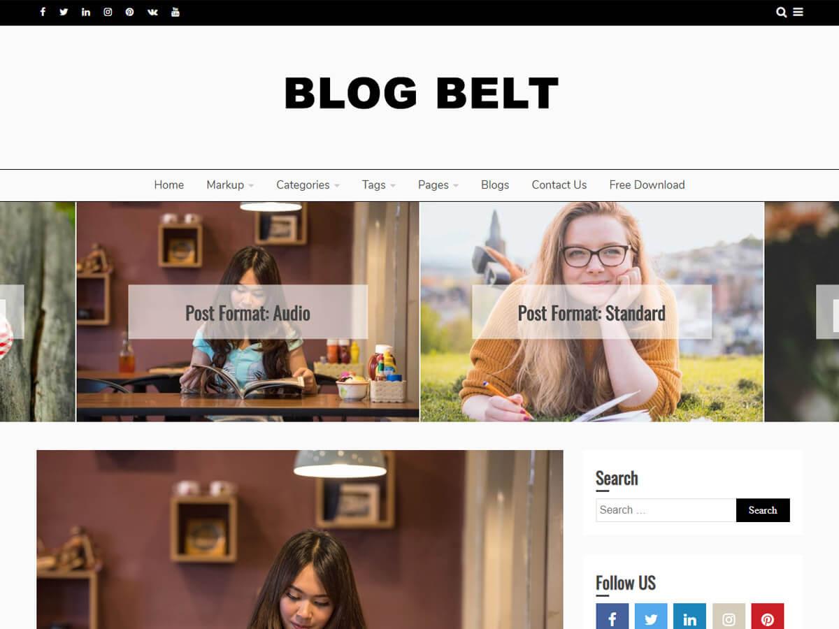 Blog Belt Main Demo