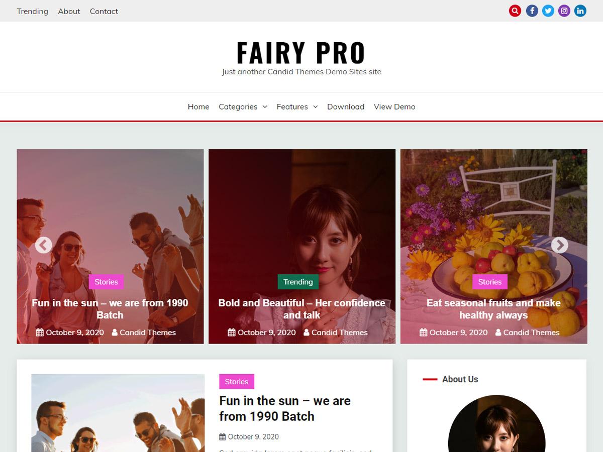 Fairy Pro Demo