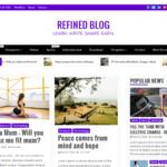 Refined Blog Theme
