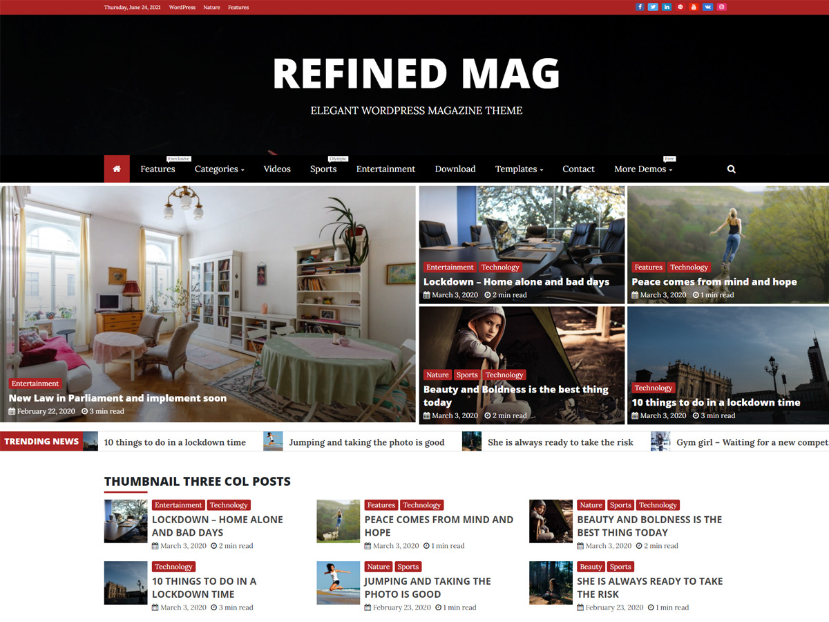 Refined Mag Theme